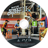 Move Street Cricket II PS3 disc (BCES01695)