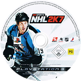 NHL 2K7 PS3 disc (BLES00033)