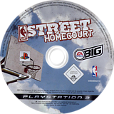 NBA Street Homecourt PS3 disc (BLES00038)