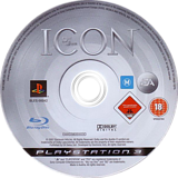 Def Jam: Icon PS3 disc (BLES00042)