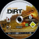 Colin McRae:DiRT PS3 disc (BLES00095)