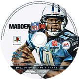 Madden NFL 08 PS3 disc (BLES00102)