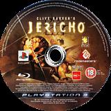 Clive Barker's Jericho PS3 disc (BLES00120)
