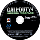 Call of Duty 4: Modern Warfare PS3 disc (BLES00148)