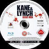 Kane & Lynch: Dead Men PS3 disc (BLES00167)
