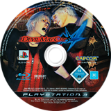 Devil May Cry 4 PS3 disc (BLES00186)