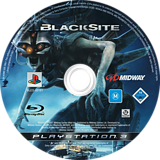 BlackSite PS3 disc (BLES00191)