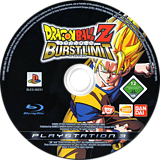 Dragon Ball Z: Burst Limit PS3 disc (BLES00231)