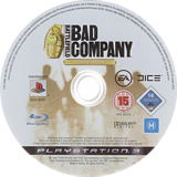 Battlefield: Bad Company (Gold Edition) PS3 disc (BLES00261)