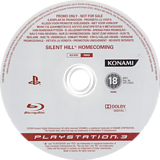 Silent Hill: Homecoming (Promo) PS3 disc (BLES00307)