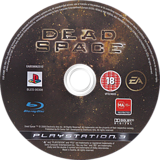 Dead Space PS3 disc (BLES00308)