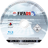 FIFA 09 PS3 disc (BLES00315)
