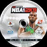 NBA 2K9 PS3 disc (BLES00384)