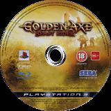 Golden Axe: Beast Rider PS3 disc (BLES00391)