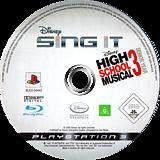 Disney Sing It: High School Musical 3 Senior Year PS3 disc (BLES00442)