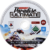 Burnout Paradise: The Ultimate Box PS3 disc (BLES00455)