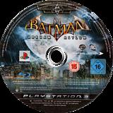 Batman: Arkham Asylum PS3 disc (BLES00503)