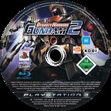 Dynasty Warriors: Gundam 2 PS3 disc (BLES00528)