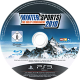 Winter Sports 2010: The Great Tournament PS3 disc (BLES00600)