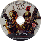 Army of Two: The 40th Day PS3 disc (BLES00659)