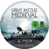 History: Great Battles Medieval PS3 disc (BLES00822)