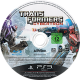 Transformers: War for Cybertron PS3 disc (BLES00833)