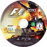 F1 2010 PS3 disc (BLES00917)
