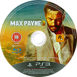 Max Payne 3 PS3 disc (BLES00942)