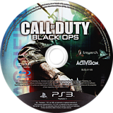 Call of Duty - Black Ops PS3 disc (BLES01105)