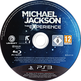 Michael Jackson: The Experience PS3 disc (BLES01135)