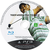 Tiger Woods PGA Tour 12: The Masters PS3 disc (BLES01270)