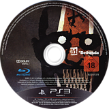 Rage: Anarchy Edition PS3 disc (BLES01378)