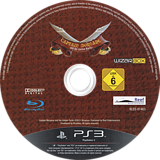 Captain Morgane and the Golden Turtle PS3 disc (BLES01463)