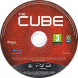 The Cube PS3 disc (BLES01471)