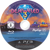 Bejeweled 3 PS3 disc (BLES01601)