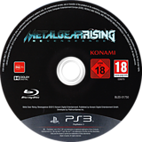 Metal Gear Rising: Revengeance PS3 disc (BLES01750)