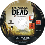 The Walking Dead: A Telltale Games Series PS3 disc (BLES01833)