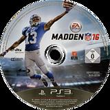 Madden NFL 16 PS3 disc (BLES02139)