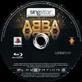 SingStar ABBA PS3 disc (BCES00423)