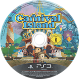 Carnival Island PS3 disc (BCES01369)
