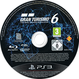 Gran Turismo 6 PS3 disc (BCES01893)