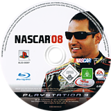 NASCAR 08 PS3 disc (BLES00097)