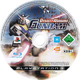 Dynasty Warriors: Gundam PS3 disc (BLES00147)
