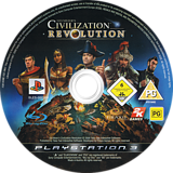 Sid Meier's Civilization Revolution PS3 disc (BLES00238)