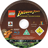 LEGO Indiana Jones: La Trilogía Original PS3 disc (BLES00254)