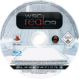 WSC Real 09: World Snooker Championship PS3 disc (BLES00290)