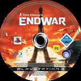 Tom Clancy's EndWar PS3 disc (BLES00326)