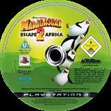 Madagascar 2 PS3 disc (BLES00394)