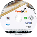 MotoGP 08 PS3 disc (BLES00396)