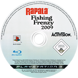 Rapala Fishing Frenzy 2009 PS3 disc (BLES00401)